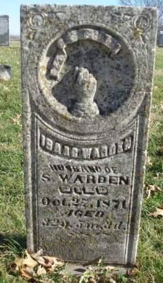 WARDEN, ISAAC - Madison County, Iowa   ISAAC WARDEN