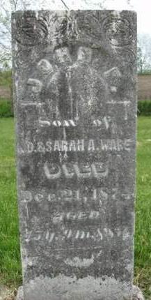 WARE, JOHN F. - Madison County, Iowa | JOHN F. WARE