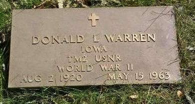 WARREN, DONALD L. - Madison County, Iowa | DONALD L. WARREN