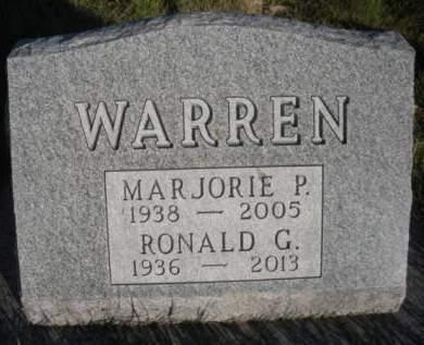 WARREN, MARJORIE PEARL - Madison County, Iowa   MARJORIE PEARL WARREN