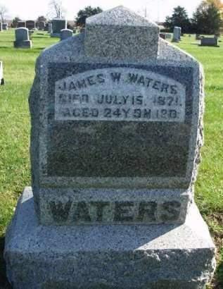 WATERS, JAMES W. - Madison County, Iowa | JAMES W. WATERS