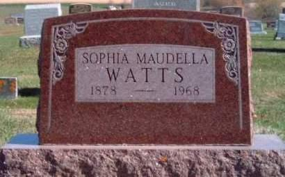 WATTS, SOPHIA MAUDELLA - Madison County, Iowa | SOPHIA MAUDELLA WATTS