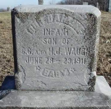 WAUGH, GEORGE SIMPSON - Madison County, Iowa   GEORGE SIMPSON WAUGH