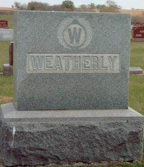 WEATHERLY, FAMILY STONE - Madison County, Iowa | FAMILY STONE WEATHERLY