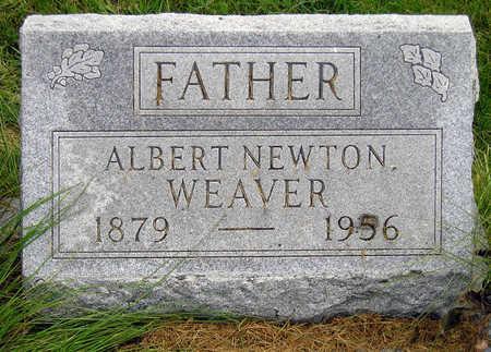 WEAVER, ALBERT NEWTON - Madison County, Iowa   ALBERT NEWTON WEAVER