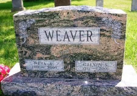 WEAVER, NEVA ALCENA - Madison County, Iowa | NEVA ALCENA WEAVER