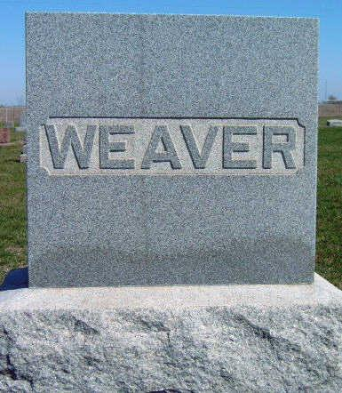 WEAVER, FAMILY STONE - Madison County, Iowa | FAMILY STONE WEAVER