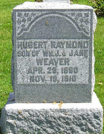 WEAVER, HUBERT RAYMOND - Madison County, Iowa   HUBERT RAYMOND WEAVER