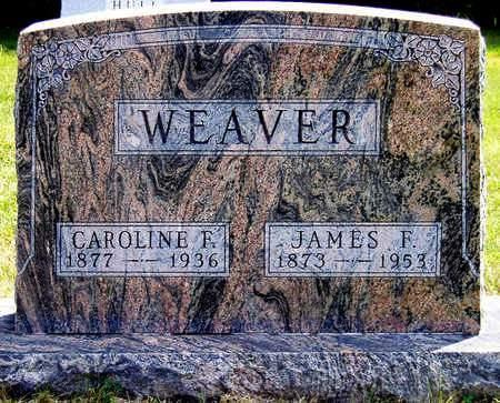 WEAVER, CAROLINE FREDERIKA - Madison County, Iowa | CAROLINE FREDERIKA WEAVER