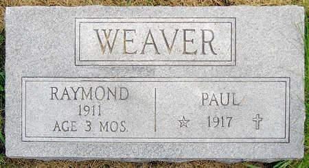 WEAVER, RAYMOND - Madison County, Iowa | RAYMOND WEAVER
