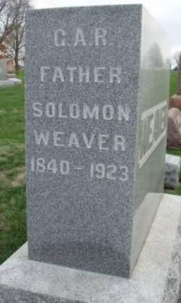 WEAVER, SOLOMON - Madison County, Iowa | SOLOMON WEAVER