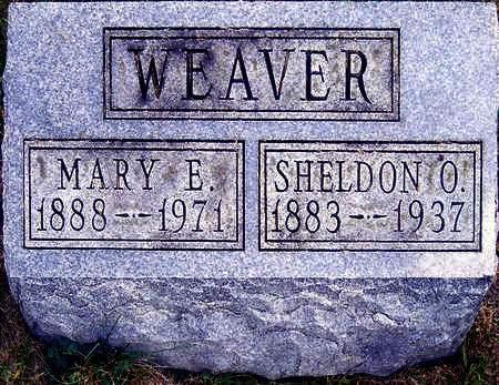 WEAVER, MARY ETHEL - Madison County, Iowa | MARY ETHEL WEAVER