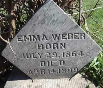 WEBER, EMARETA - Madison County, Iowa | EMARETA WEBER