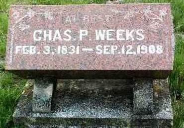 WEEKS, CHARLES POWERS - Madison County, Iowa | CHARLES POWERS WEEKS