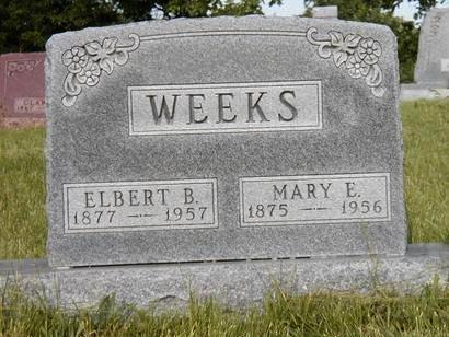 WEEKS, MARY E. - Madison County, Iowa | MARY E. WEEKS