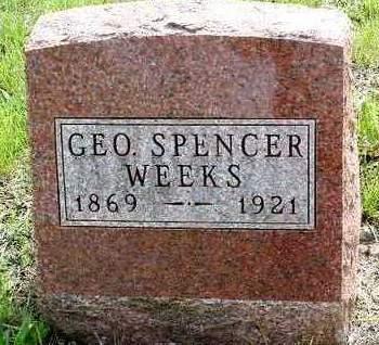 WEEKS, GEORGE SPENCER - Madison County, Iowa   GEORGE SPENCER WEEKS