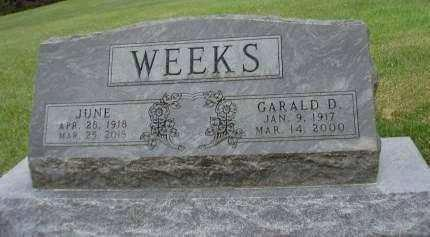 WEEKS, GARALD D. - Madison County, Iowa | GARALD D. WEEKS
