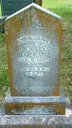 WEEKS, LYDA JANE - Madison County, Iowa | LYDA JANE WEEKS