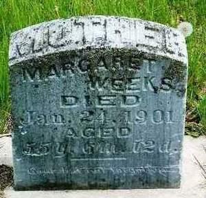 WEEKS, MARGARET - Madison County, Iowa | MARGARET WEEKS