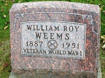 WEEMS, WILLIAM ROY - Madison County, Iowa | WILLIAM ROY WEEMS
