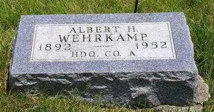 WEHRKAMP, ALBERT HERMAN - Madison County, Iowa | ALBERT HERMAN WEHRKAMP