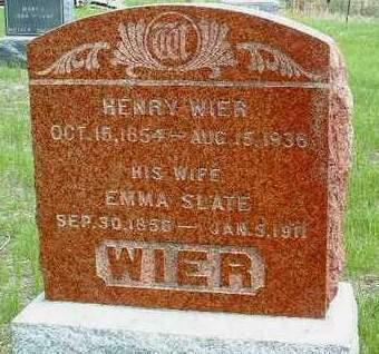 WIER, HENRY - Madison County, Iowa | HENRY WIER