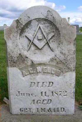 WELCH, ALBERT G. - Madison County, Iowa | ALBERT G. WELCH