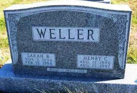 WELLER, SARAH BLAKE - Madison County, Iowa | SARAH BLAKE WELLER