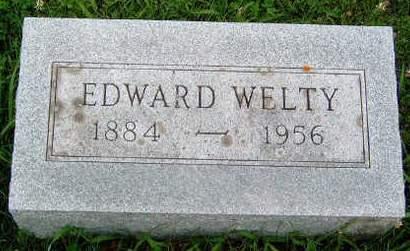 WELTY, EDWARD - Madison County, Iowa | EDWARD WELTY