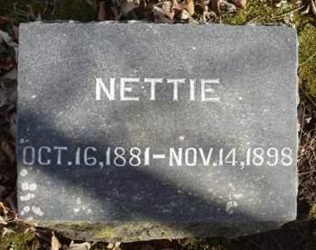 WELTY, NETTIE - Madison County, Iowa | NETTIE WELTY