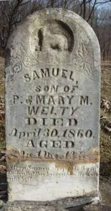 WELTY, SAMUEL - Madison County, Iowa | SAMUEL WELTY