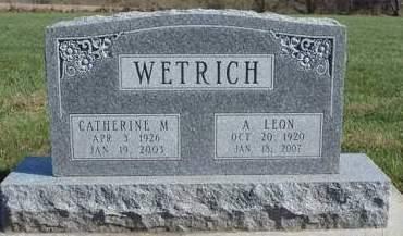 WETRICH, ALFRED  LEON - Madison County, Iowa | ALFRED  LEON WETRICH