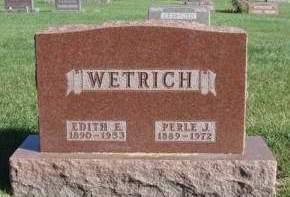 WETRICH, PERLE J. - Madison County, Iowa | PERLE J. WETRICH