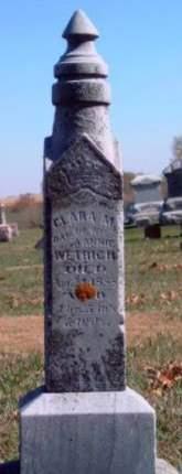 WETRICH, CLARA M. - Madison County, Iowa | CLARA M. WETRICH
