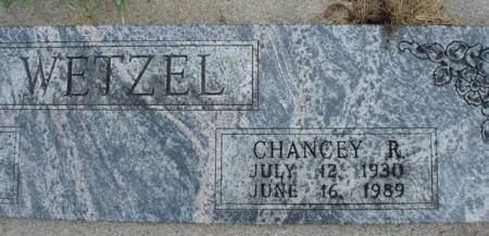 WETZEL, CHANCEY R. - Madison County, Iowa | CHANCEY R. WETZEL