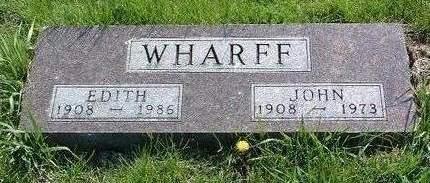 WHARFF, JOHN IVAN - Madison County, Iowa | JOHN IVAN WHARFF