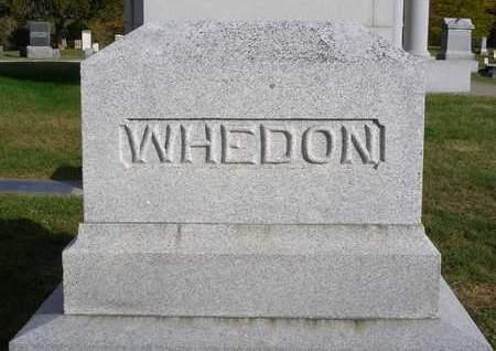 WHEDON, FAMILY STONE - Madison County, Iowa   FAMILY STONE WHEDON