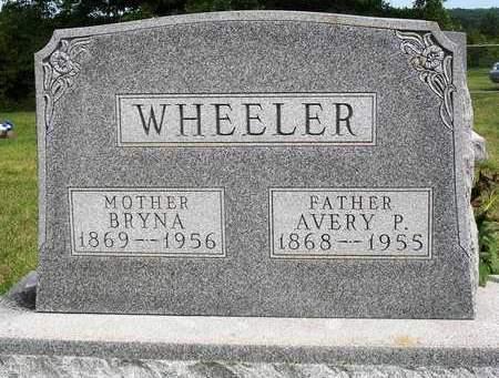 WHEELER, AVERY PORTER - Madison County, Iowa | AVERY PORTER WHEELER