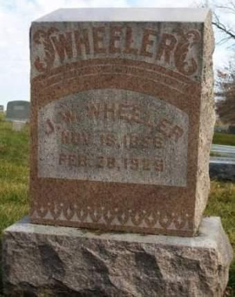 WHEELER, JAMES WILLIAM - Madison County, Iowa | JAMES WILLIAM WHEELER