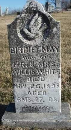 WHITE, BIRDIE MAY - Madison County, Iowa | BIRDIE MAY WHITE