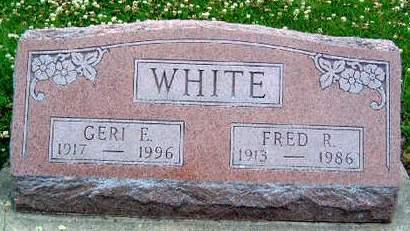 WHITE, GERALDINE E.