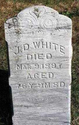WHITE, JOHN D. - Madison County, Iowa | JOHN D. WHITE