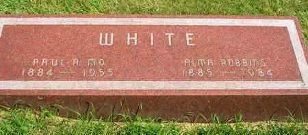 WHITE, ALMA ALZORA - Madison County, Iowa | ALMA ALZORA WHITE