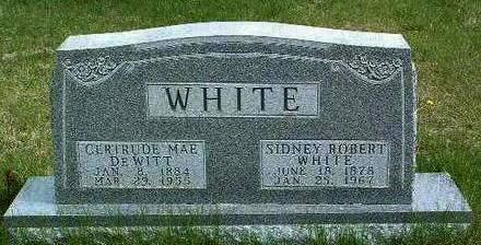 WHITE, SIDNEY ROBERT - Madison County, Iowa | SIDNEY ROBERT WHITE