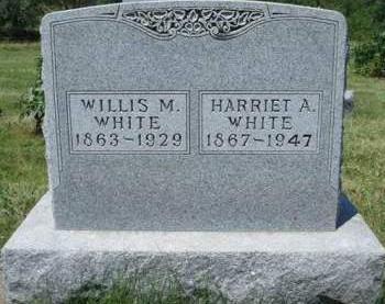 WHITE, HARRIET AMANDA - Madison County, Iowa | HARRIET AMANDA WHITE