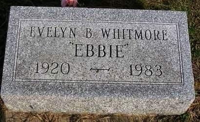 WHITMORE, MARY EVELYN B.  (EBBIE) - Madison County, Iowa | MARY EVELYN B.  (EBBIE) WHITMORE