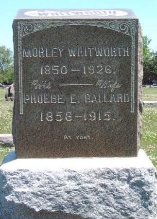 WHITWORTH, PHOEBE E. - Madison County, Iowa | PHOEBE E. WHITWORTH