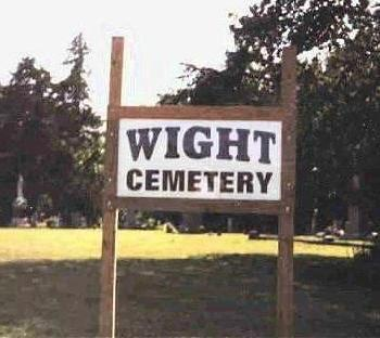 WIGHT, CEMETERY - Madison County, Iowa   CEMETERY WIGHT