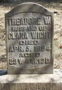 WIGHT, THEADORE W. - Madison County, Iowa | THEADORE W. WIGHT