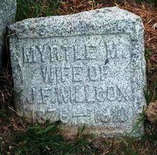 WILLCOX, MYRTLE MAE - Madison County, Iowa | MYRTLE MAE WILLCOX